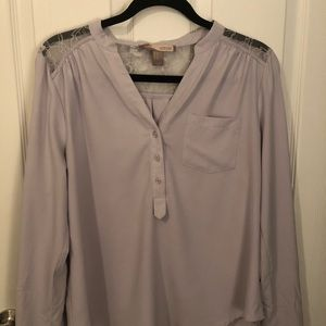 Forever 21 Blouse Lilac Lace